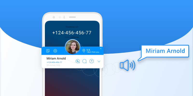 Talking Caller Id – Speak the caller name on incoming call