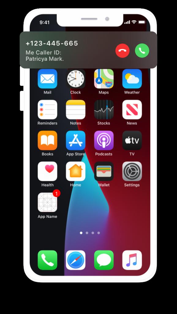 iPhone caller id